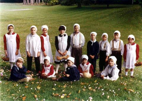 groupe d'enfants (1992)