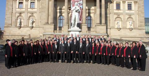Der gemischte Chor im Jubiläumsjahr 2009