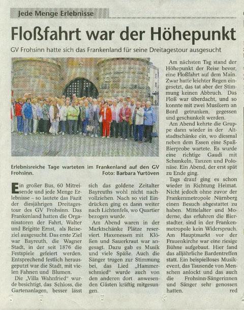 Bierstadter Nachrichten  Juli 2011