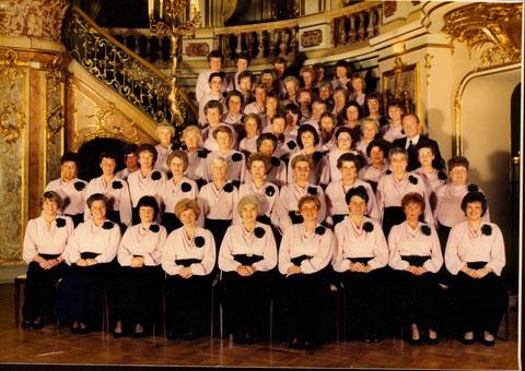 Der  Frauenchor zum 130-jährigen Jubiläum des MGV Frohsinn