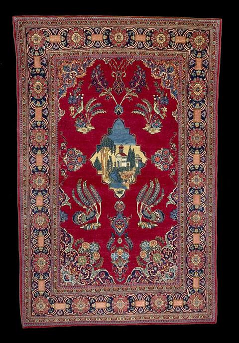 Teheran Teppich, 200 x 140