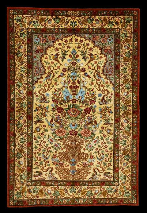 Ghom Seide, 160 x 100