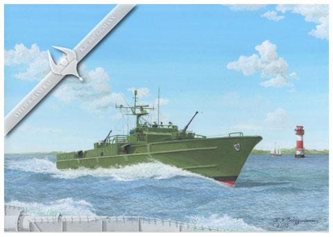 """Schnellboot """"Wolf"""" P6062"""
