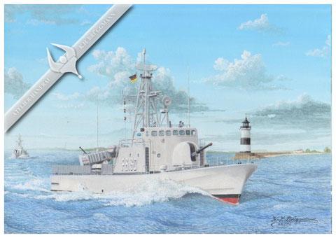 """Schnellboot """"S60"""" Kranich P6160"""