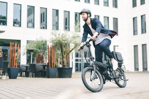 電動バイクで通勤