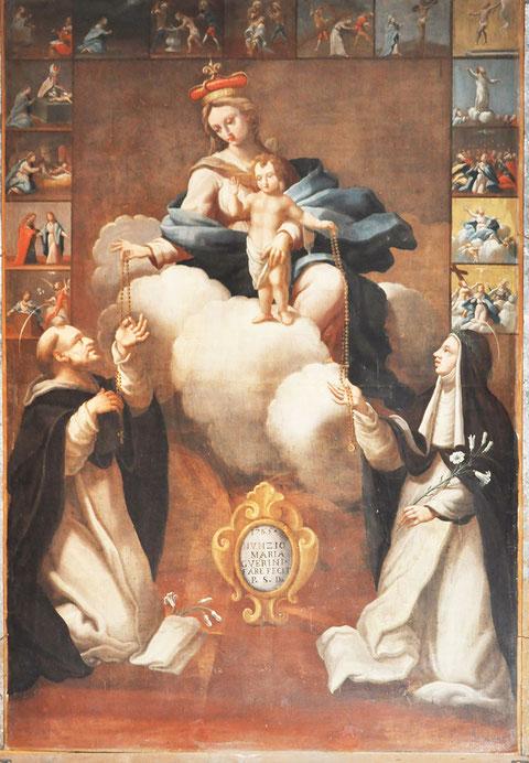 ASCO - Eglise St Michel - Donation du Rosaire - Francescu Carli