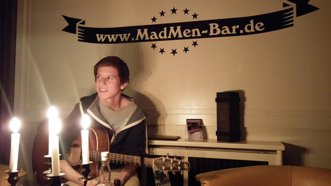 Live-Session in der MadMen-Bar