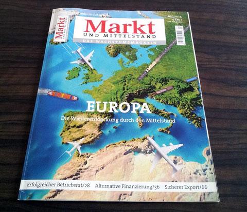 Markt und Mittelstand Heft 05/14 Interview mit Bianca Fuhrmann, © Bianca Fuhrmann