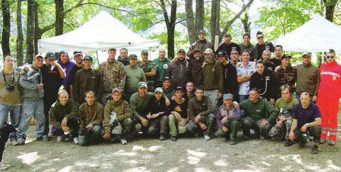 FOTO PUBBLICATA SU PESCARE CARPFISHING E SU CARPA PER TUTTI OTTOBRE 2009