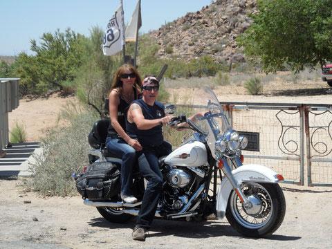 Route 66, ein Muss für Harleyfreaks