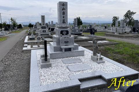 墓石リフォーム後