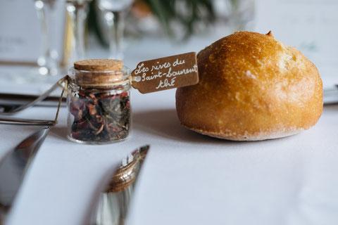 Les Coins Heureux wedding planner Paris et France cadeaux invités mariage nourriture