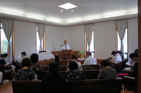 浜松教会礼拝1