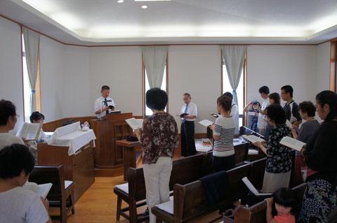 浜松教会礼拝2