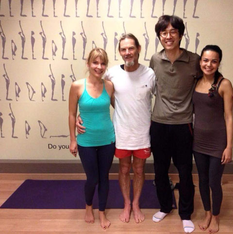 John Scott yoga à Caen