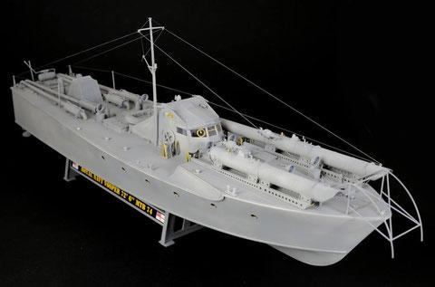 La maquette, présentée par Italeri