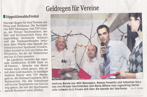 Sächsische Zeitung, 02.10.2010