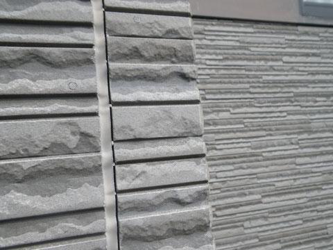 熊本市N様家の外壁塗装及び屋根塗装時。外壁クリアー塗装前。