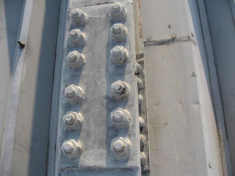 屋根下地処理 折半屋根塗替え