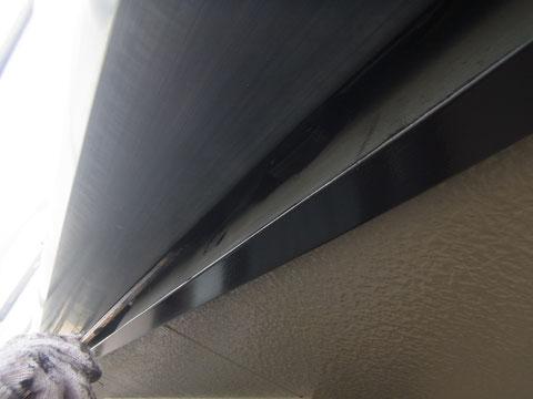 熊本県〇様邸外壁・幕板塗装。刷毛塗り