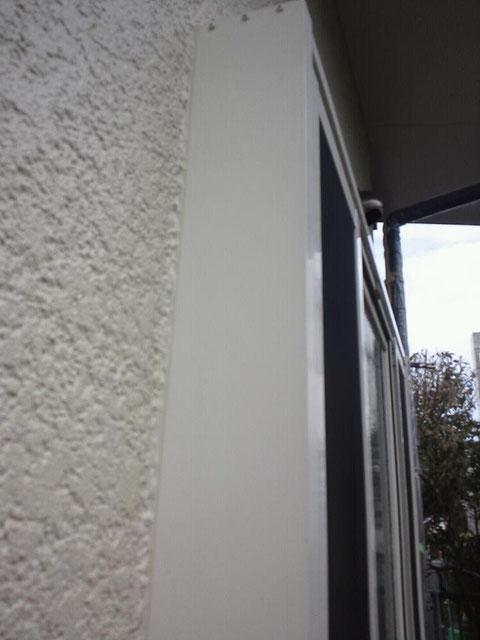 外壁塗装後の手直し塗装完了 熊本市〇様