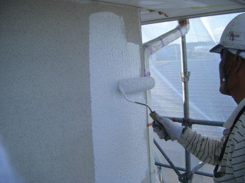 セラスキン外壁 防水塗装マスチック 熊本県H様邸