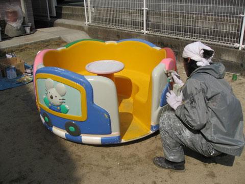 遊具 塗装 熊本