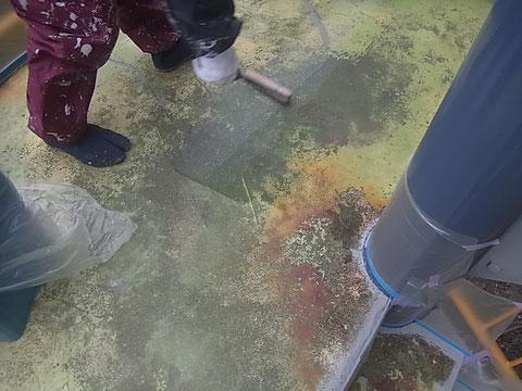 床塗替えの密着プライマー塗装