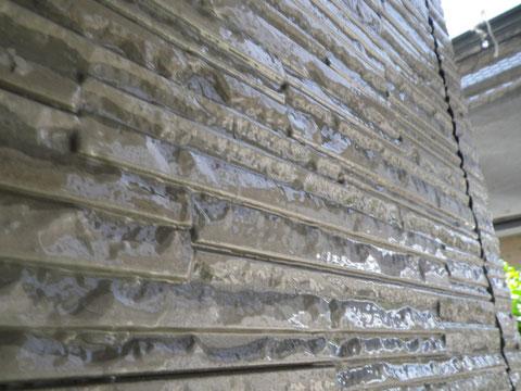熊本市N様家のクリアー外壁塗装完成です。