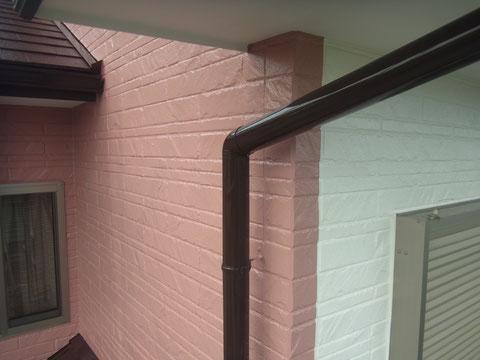 外壁2色使用 塗装