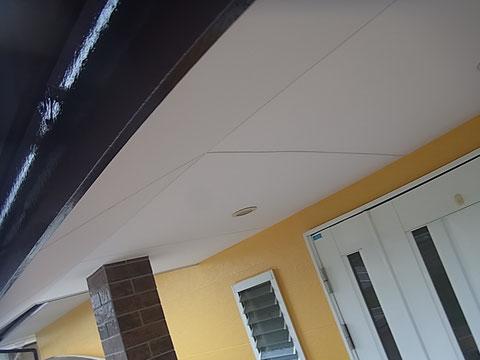 玄関塗り替え完了。熊本〇様宅