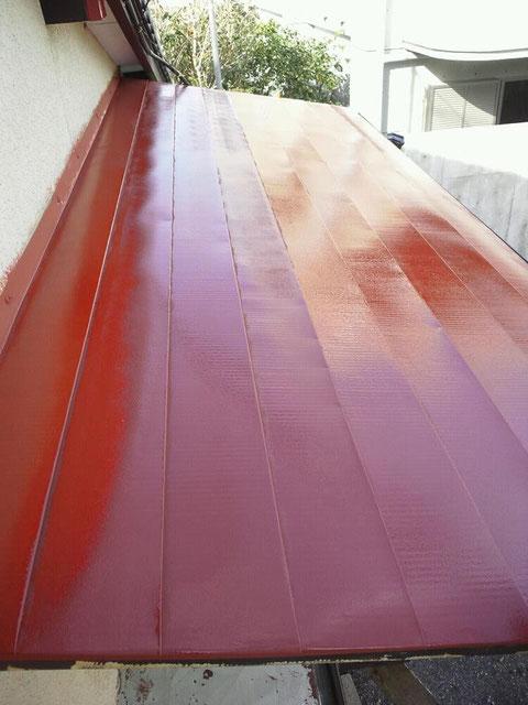 サビ止め塗装 屋根