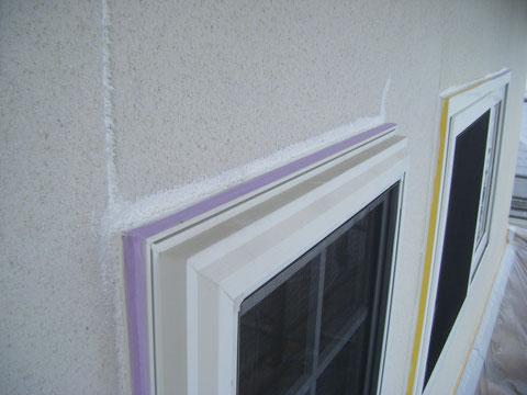 熊本のお家防水コーキング処理 塗装前