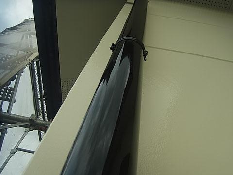 竪トイ塗装キレイにかっこよく塗り替え完成 熊本〇様宅塗装状況