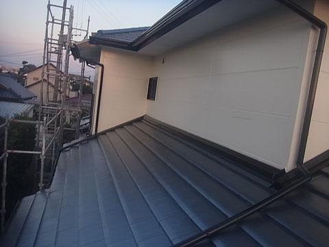 熊本I様邸 屋根塗装 外壁塗装状況。 塗装完成AFTER