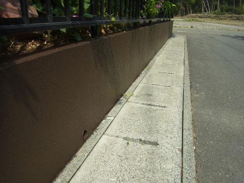 熊本県〇様邸 壁塗装完成。
