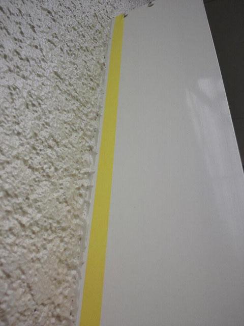 外壁塗装後の手直し塗装中