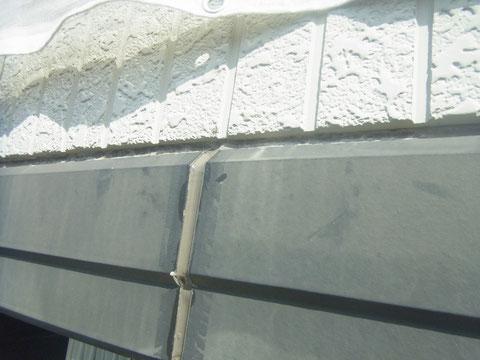 熊本県〇様邸塗装前にコーキング処理完成