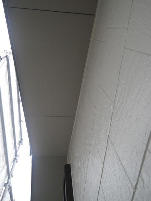 熊本市N様家外壁塗装及び屋根塗装完成報告。外壁塗装仕上がり様子。