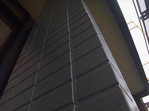 熊本市I様家の外壁グレーカラー塗替え完成。サイディング