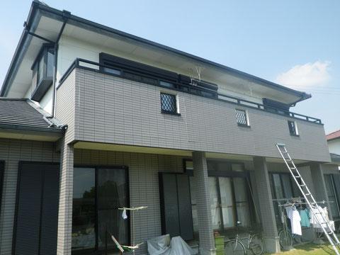 屋根・外壁塗装前BEFORE