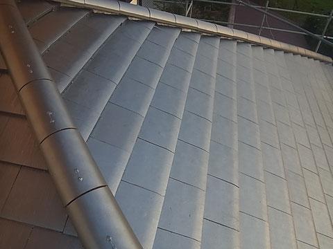 瓦屋根塗装完了 熊本〇様宅