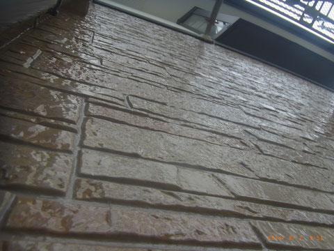 熊本〇様家の外壁塗装工事完成です。サイディング外壁の保護クリヤー塗装完成です。美しく仕上がりました。