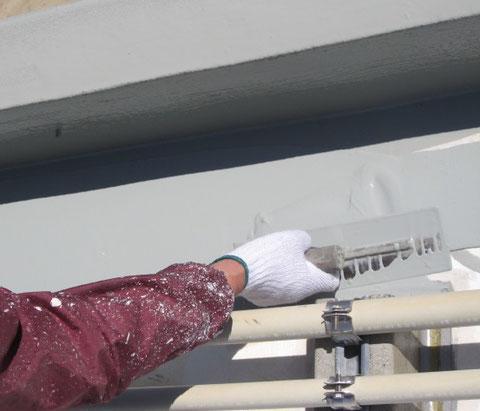 熊本市〇様 ベランダ屋上防水塗装ウレタン仕上げ