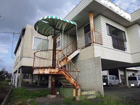外壁塗装、前状況。 熊本市 y様