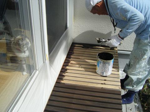 熊本H様邸外壁塗装 ウッドデッキ塗装