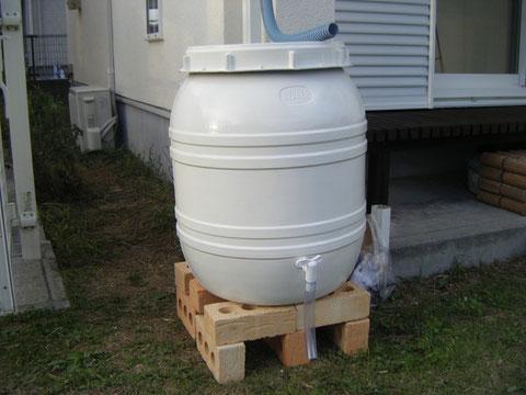 熊本県H様邸 設置ホワイト雨水エコタンク