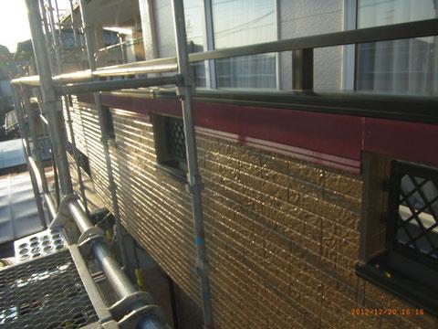 茶色・ブラウン外壁塗り替え完成。 熊本県T様邸