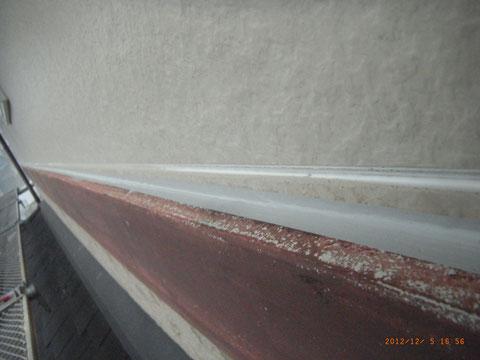 外壁塗装前のコーキング処理状況 熊本のお家