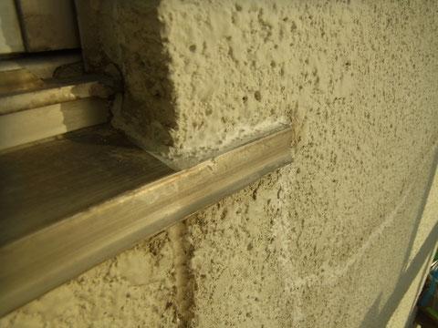熊本T様邸外壁下地処理。 塗装前BEFORE